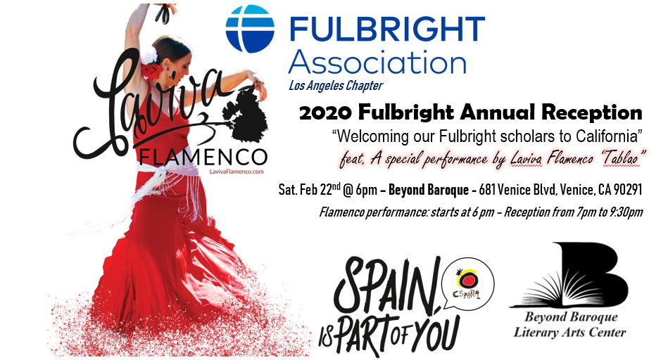 Gala February 22 Chapter Reception at Beyond Baroque – with Flamenco
